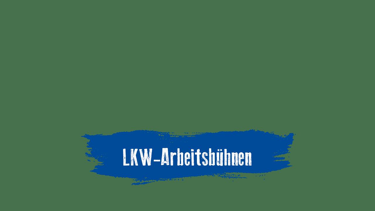 LKW-Arbeitsbühnen mieten und kaufen