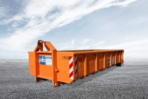 Online Abrollcontainer 15m³ mieten