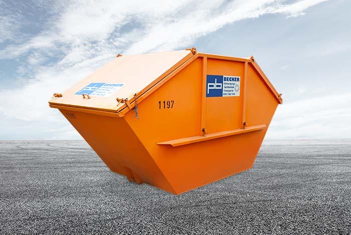Online Absetzcontainer 10m³mieten