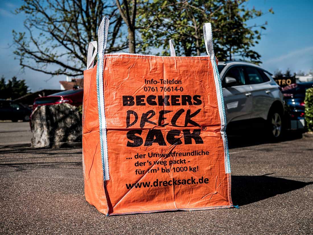BECKERs ikonischer Drecksack