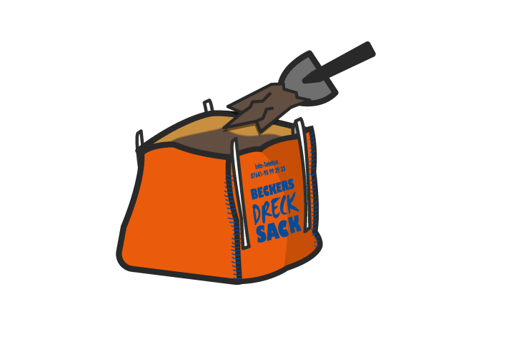 Drecksack einfach befüllen