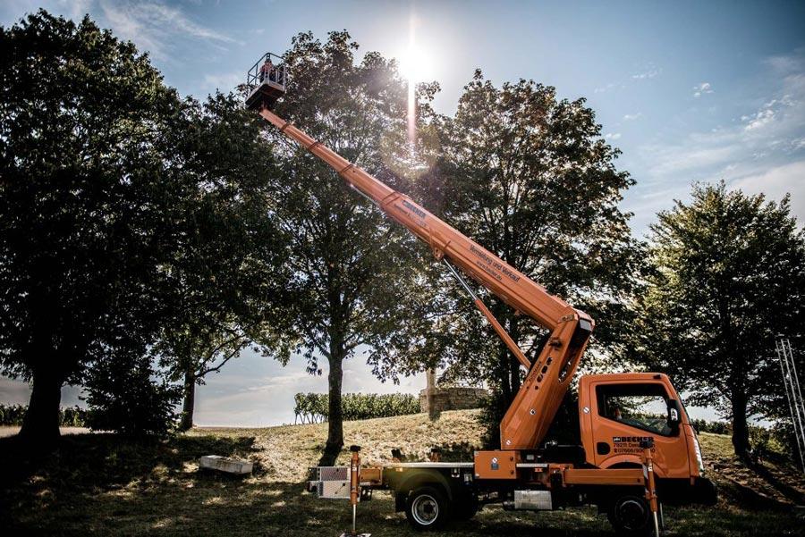 Arbeitsbühnen für Baumschnitt mieten