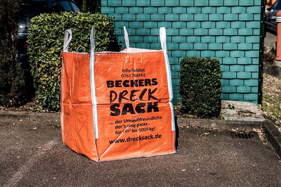 BECKERs Drecksack für Frühjahrsputz