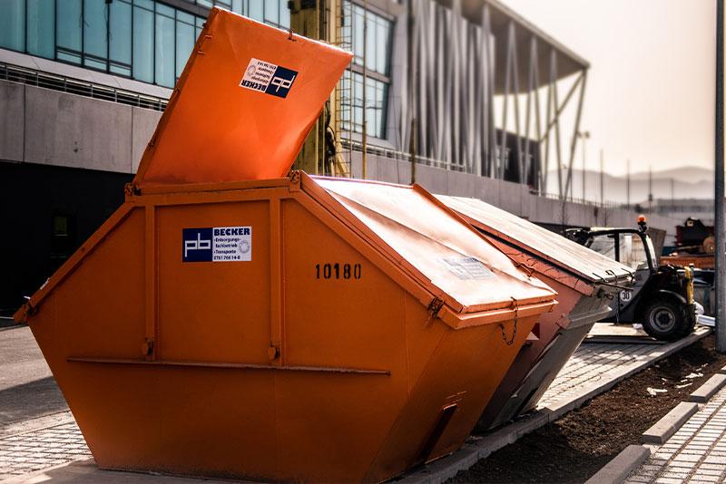 Containerdienst der Paul Becker GmbH