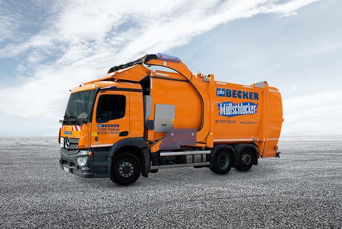 Containerdienst in Südbaden