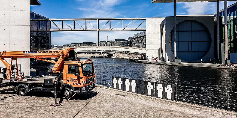 Gerüstbau, Stapler und Arbeitsbühnen in Berlin