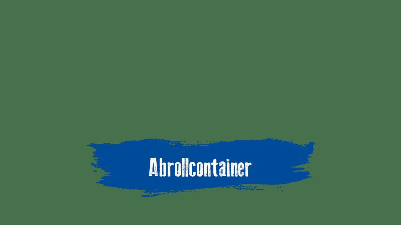 Abrollcontainer mieten bei Paul Becker