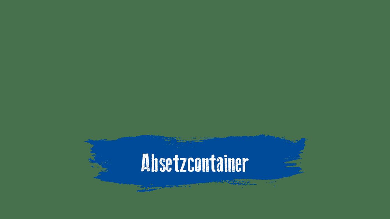 Absetzcontainer mieten bei Paul Becker
