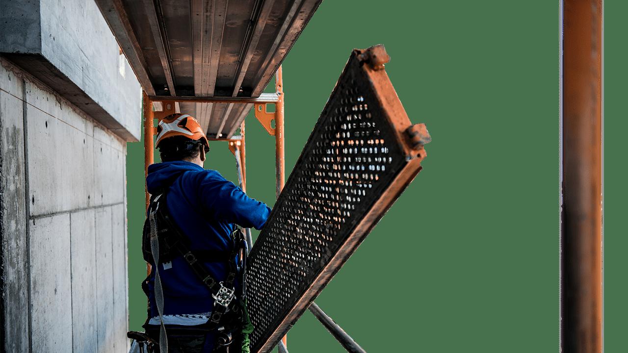 Gerüstbau bei BECKER
