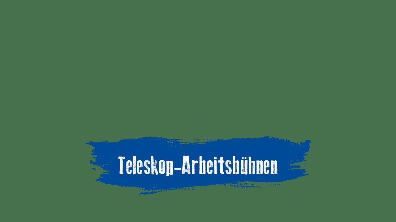 Teleskop Arbeitsbühne mieten und gebraucht kaufen Paul Becker