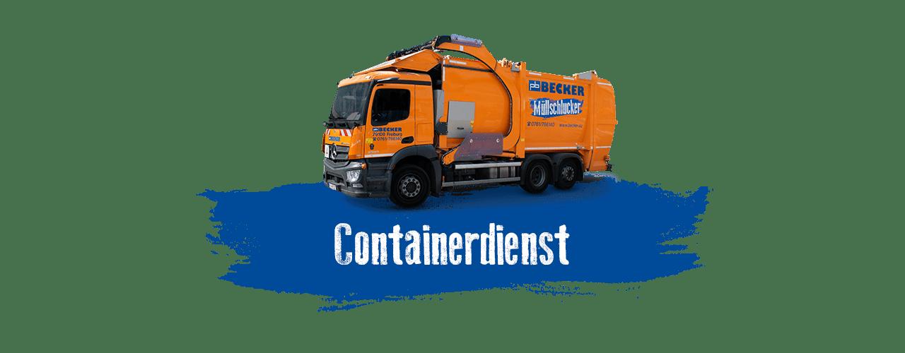 Containerdienst bei BECKER