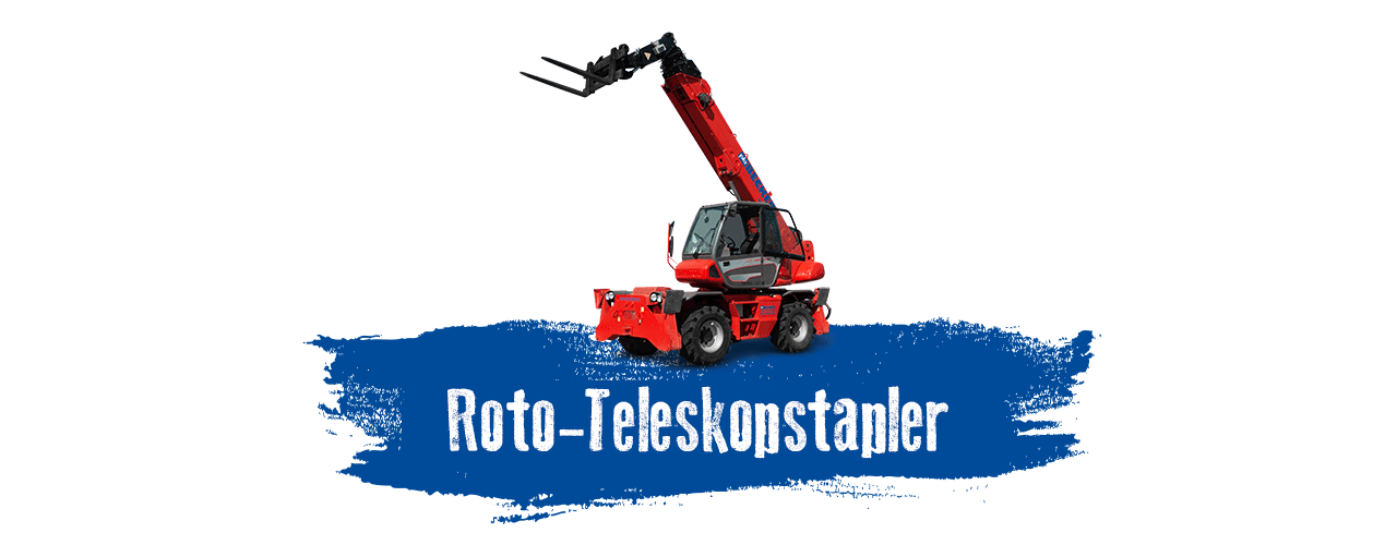 Roto-Teleskopstapler mieten bei BECKER