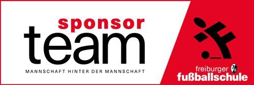 Logo SC Freiburg Sponsor – Freiburger Fußballschule